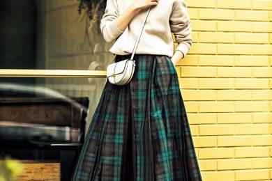 カジュアル【スウェット】もふんわりボリュームスカート合わせならぐっと女らしく![3/8Sun.]