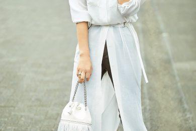 清潔感と軽やかさの両方が手に入る白【白シャツファッション】[3/27 Fri.]
