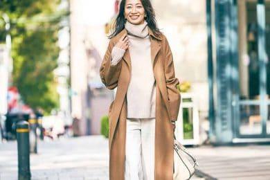 ブラウン・茶系コートのおしゃれコーデ9選【街のオシャレ40代SNAP】