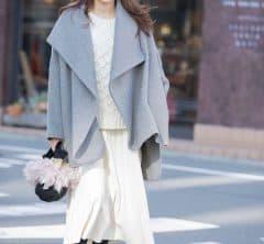 【街のオシャレ40代SNAP!Feb21th】冬スタイルの主役は、印象チェンジが叶う2WAYデザインコート