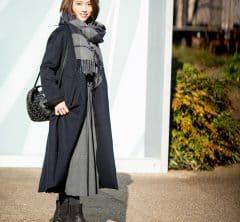 【街のオシャレ40代SNAP!March④】ディテールまでこだわった小物合わせで大人シックな冬の装い