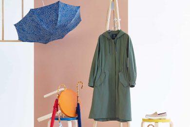 雨の日も晴れの日も♡英国老舗ブランドFOX UMBRELLASからファッションコートが登場