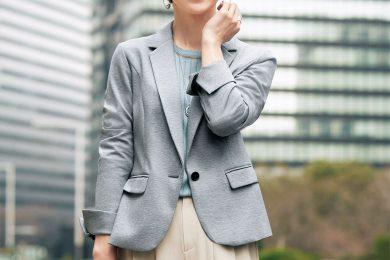 【日めくり7days①Mon】着心地抜群!今年らしく進化した丈感の匠ジャケットがマスキュリンな表情を添えてくれる