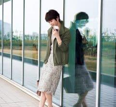 【日めくり7days②Tue】OFFだけのものじゃない!レーススカートを合わせれば新鮮な通勤スタイルに