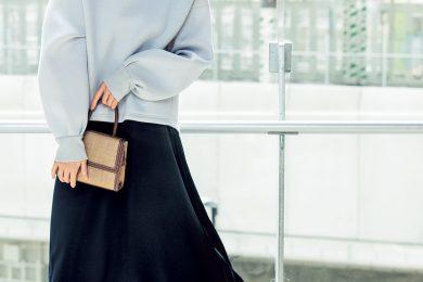 部分【プリーツ】スカートは歩く度に裾が揺れて華やかさアップ![4/10 Fri.]