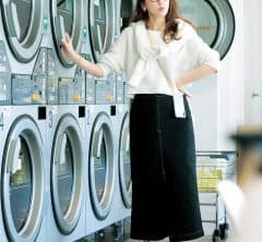 毛布のお洗濯をしよう【モノトーンファッション】[4/27 Mon.]