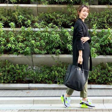 武藤京子ブログ「春を感じる(!?)お気に入りのスニーカーでコーディネート」