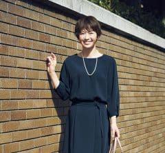 【日めくり7days①Mon】入学式は美シルエットにこだわったコンサバセットアップでいい母を演出