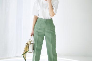 大人もTシャツで清潔感のあるスタイルができる[5/31 Sun.]