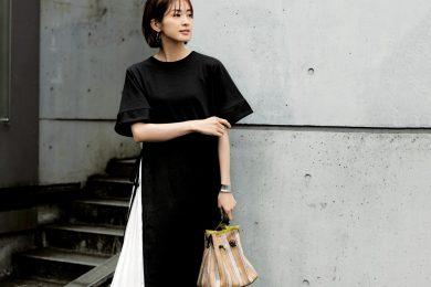 【サイドプリーツ】ワンピースならコーデいらずで楽ちんオシャレ[5/12 Tue.]