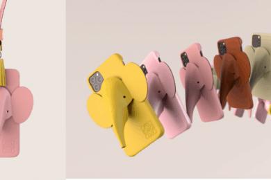 ロエベの遊び心と革細工の技術が融合したエレファント カバー、iPhone 11用発売!