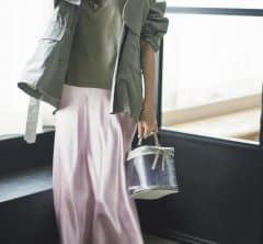 【ライトグリーン×ピンク】の今っぽさ最高濃度の配色で[6/2 Tue.]