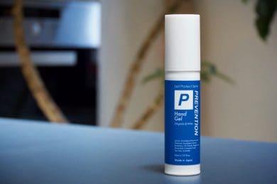 感染予防の対策&手肌が潤う高保湿のハンドジェル