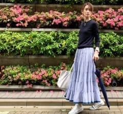 武藤京子ブログ「お気に入りの @MARIHA のスカートで 雨の日の気分を上げてみた」