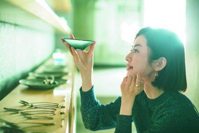 モデル高垣麗子さんが日々お世話になっている愛用和食器