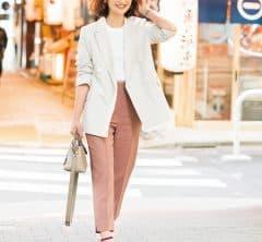 【街のオシャレ40代SNAP!June③】たまのひとり時間にピンクの力を!