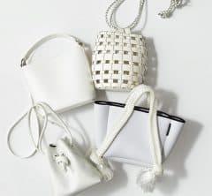 大人の夏小物、今年は何にでも合う「白バッグ 」が正解!