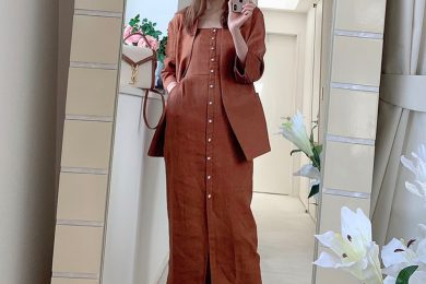 この夏コレ買っちゃいました! STORYモデルの「お家ファッションショー」第2弾<美香さん編>