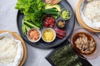 手巻き寿司パーティーは具材のアレンジ次第でもっと美味しく、楽しくなる!【おうち時間を豊かにするアイデアレシピvol.1】