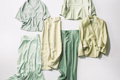 大人が今買うべき色は……迷わず「ピスタチオグリーン」!