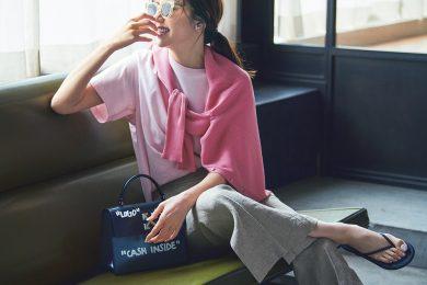 ただ可愛いだけじゃない! 「トレンドのピンク」を大人が今どきに着こなす方法