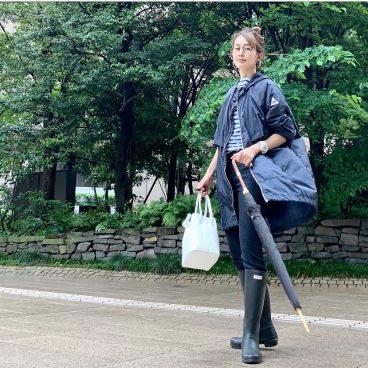 武藤京子ブログ「梅雨用に準備していた @Cape HEIGHTS のアウター」