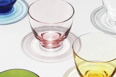 水の波紋が心を癒すHOLMEGAARDの新作グラス