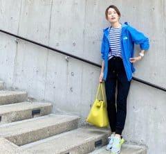 武藤京子ブログ「いつもより 色数多めな 先日のお洋服」