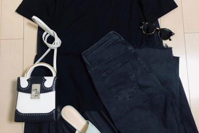 体型カバーにもなるちょい甘トップスはTシャツ苦手でも大丈夫!|ネット通販でSTORYライター何買った?