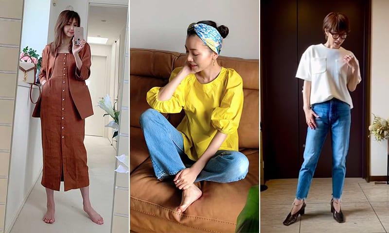 STORYモデルのお家ファッションショー