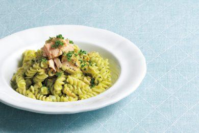 アボカドツナパスタサラダ【簡単!夏休みのお昼ご飯レシピ】