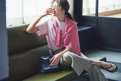 夏になったら、より気分の上がる【ピンク】という選択[7/22 Wed.]