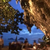 [タイ・クラビ]神秘的な洞窟レストランGrotto