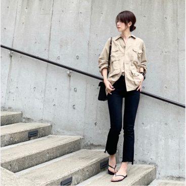 武藤京子ブログ「いつもとちょっと違う髪色でコーディネート」
