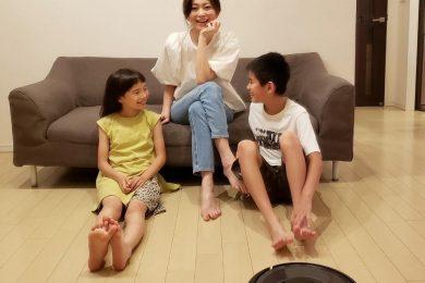 モデル佐藤 純さんが体験!ロボット掃除機に頼ったら、家族や自分の時間が充実するワケ