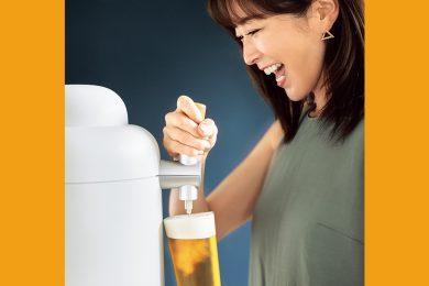 \暮らしの質を上げる/おうちで生ビール♡