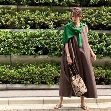 武藤京子ブログ「BROWN×GREEN で ちょっとだけ秋を意識」