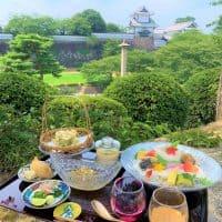 【金沢】涼を味わう 金沢城を眺めて 兼六園でランチ 見城亭