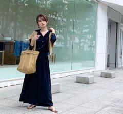 武藤京子ブログ「暑くて コンビニコーヒー一気飲みした日のコーディネート」