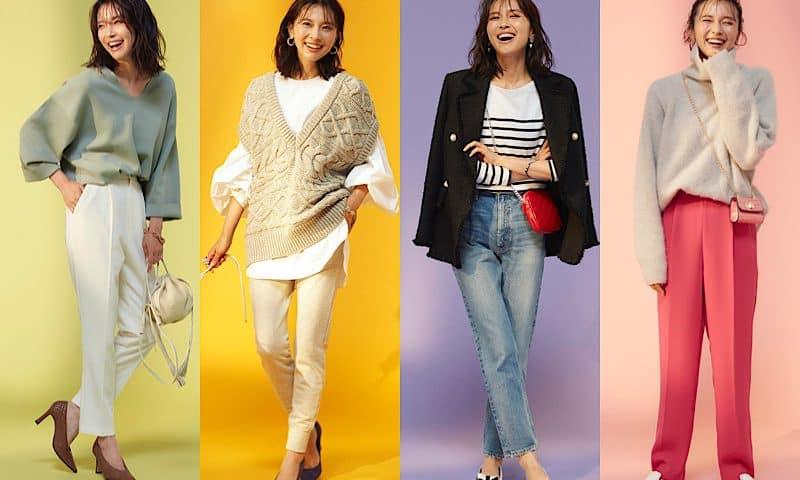 2021秋服はコレが流行る!40代のためのトレンドコーデ27選【マストな色やアイテム総まとめ】