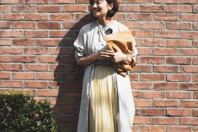 ユニクロのプリーツスカートは、色も形も季節感も大人にちょうどいい|オバ見えしない、オシャレさんのユニクロコーデ!