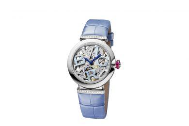 【ブルガリ新作時計】日本限定モデル「ルチェア スケルトン ブルー」誕生!