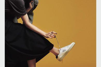 この秋【白のスニーカーひとつ】で着こなしがぐっと変わることを見直してみる[9/21 Mon.]