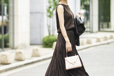 人気インスタグラマー星 玲奈さんも注目!トレンドカラーの「チョコ茶服」