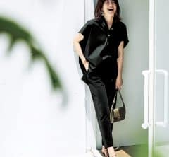 別々に着ても力を発揮する【黒のセットアップ】が秋へのつなぎ服[9/9 Wed.]