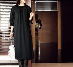 この【楽ちんワンピ】、着るだけで大人可愛いとスタイルアップが叶う[10/12 Mon.]