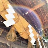 【金沢発】神秘!虹のかかるしめ縄⁉白山比咩神社