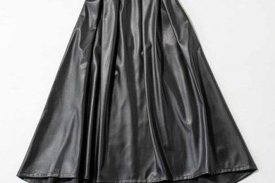 エコレザースカート【Secret Trophyお買い上げの方へスタイリストから着こなしをアドバイス!】