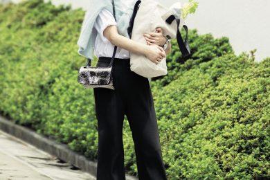 【こちらで買えます】夏→秋のスイッチ季節は、 NEWフェミニンパンツの 出番です!