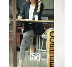 朝礼のある月曜日は真面目な印象が一番【40代マネージャー服】[11/9 Mon.]